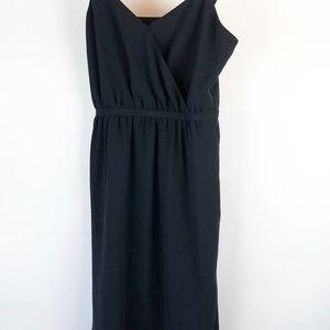 Madewell Women's Dress Size 4 Black slip on dress
